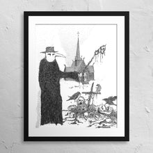"Load image into Gallery viewer, ""Plague Doctor"" Print"