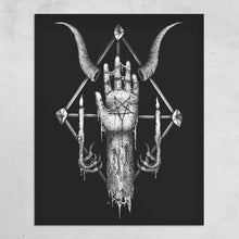 "Load image into Gallery viewer, ""Vnder the Sign of the Black Mark"" Print"