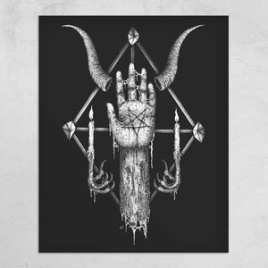 """Vnder the Sign of the Black Mark"" Print"