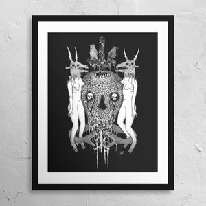 """Witch Serpent"" Print"