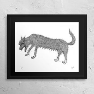 """Wolfmother"" Print"