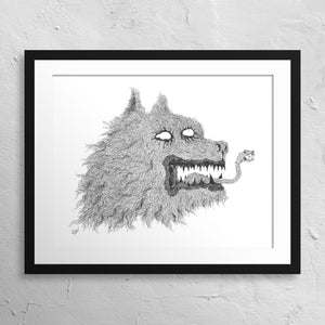 """Canis..."" Print"