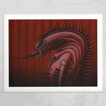 "Load image into Gallery viewer, ""Xenomorphic"" - ROK/Sadistik Exekution print"