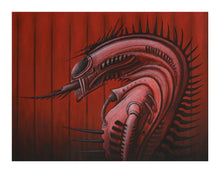 "Load image into Gallery viewer, ""Xenomorphic"" - seven 11 x 14"" print set"