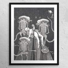 "Load image into Gallery viewer, ""Xenomorphic"" - VBERKVLT 11 x 14"" print"
