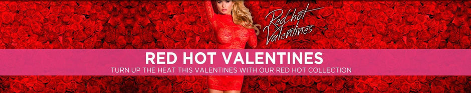 Red Hot Valentines Lingerie Gifts for her