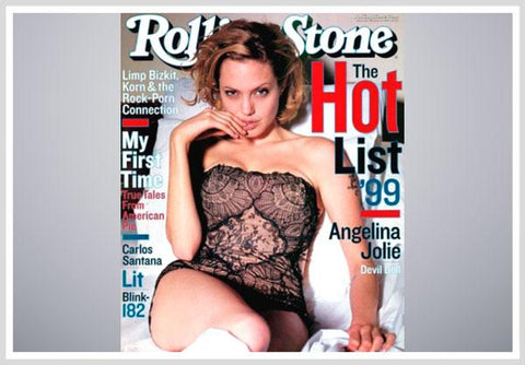 Angelina Jolie, Rolling Stone - 1999
