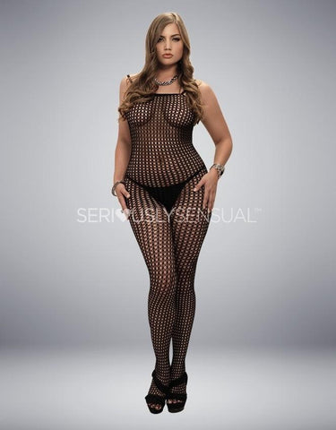 Crocheted Bodystocking - Plus Size
