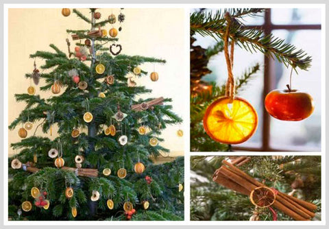 Dried Fruit Christmas Ornaments