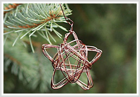 Hand Made Wire Ornaments
