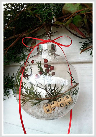 The Simple Christmas Ball Ornament