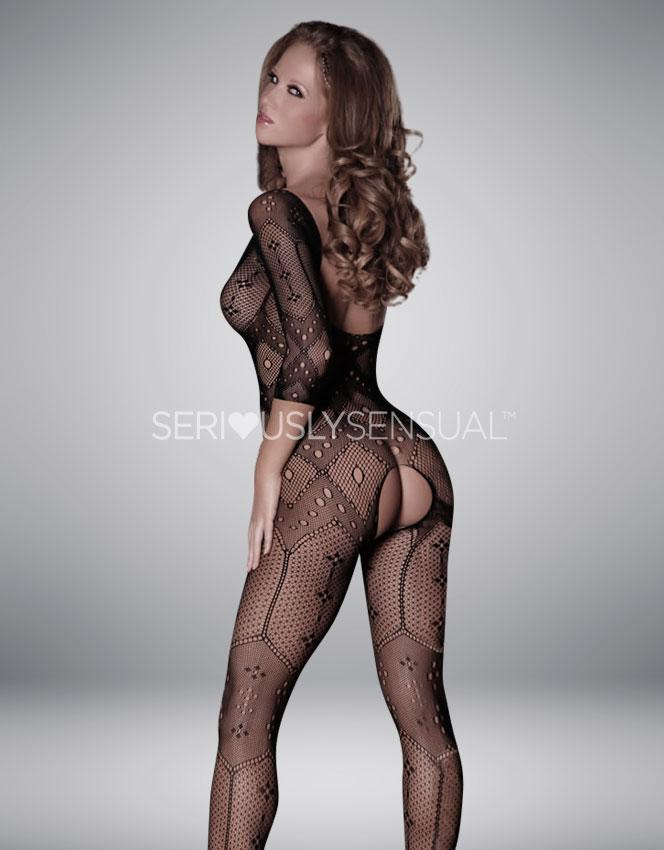 Provocative Bodystocking - PR4164 - Image of the back