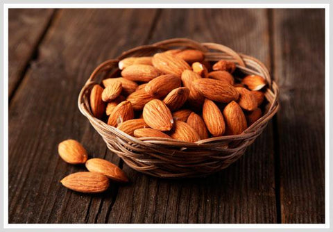 Almonds help the male sex hormone
