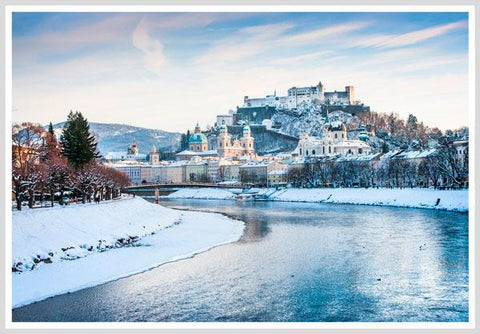 Salzburg, Austria - Romantic Winter Destinations
