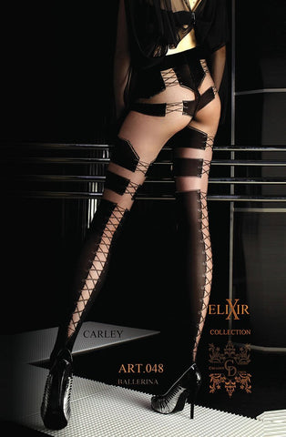 Ballerina 048 Tights Nero - Black - Visone - SeriouslySensual