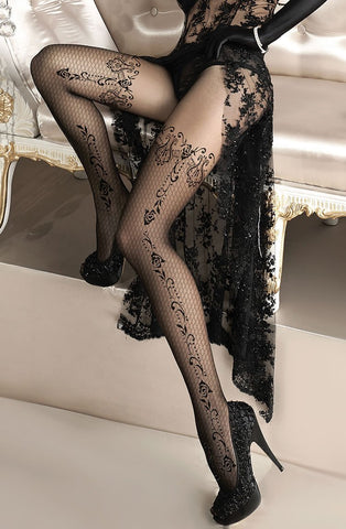 Ballerina 135 Tights Nero - Black - SeriouslySensual