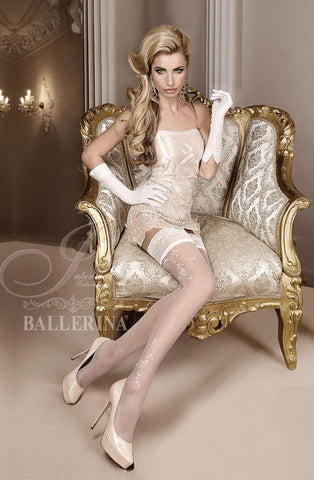 Ballerina 256 Hold Up Avorio - Ivory