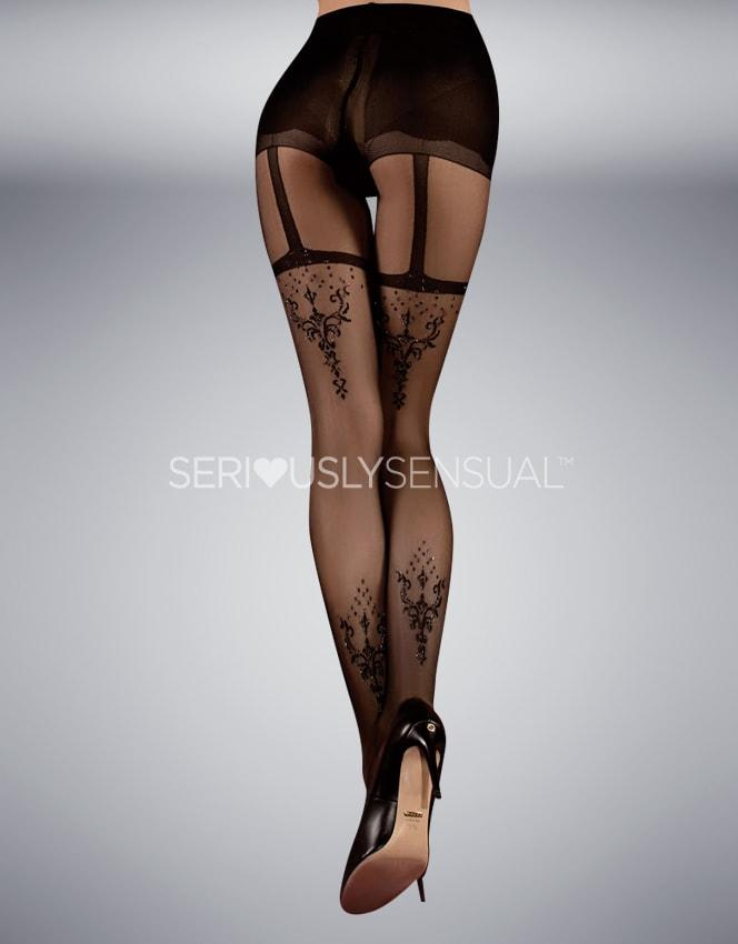Ballerina 347 Tights Nero (Black) - SeriouslySensual