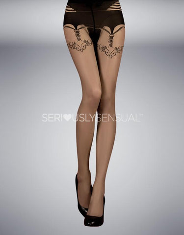 Ballerina 354 Tights Skin - Nero (Black)