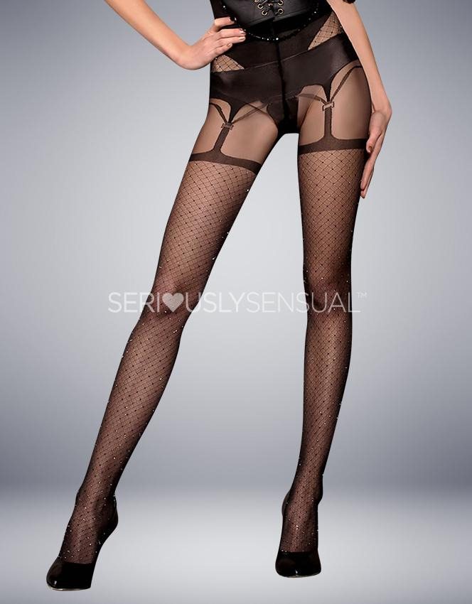 Ballerina 411 Tights Nero (Black) - SeriouslySensual
