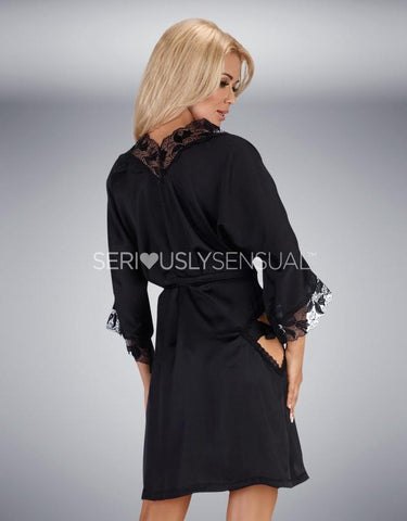 Beauty Night Ambrosia Black Gown