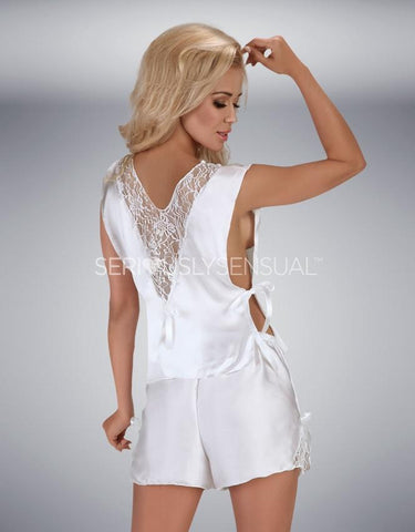Beauty Night White Mellissa Pyjamas
