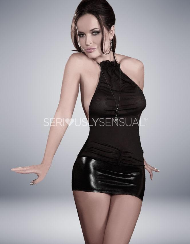 Christelle mini dress - Small-Medium - SALE - SeriouslySensual
