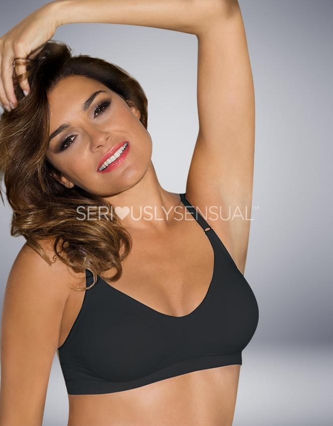 Control Body Collection COMFORT BRA NERO - SeriouslySensual
