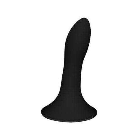 CUSHIONED CORE SUCTION CUP SILICONE DILDO 5 INCH - SeriouslySensual