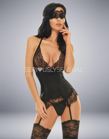 EVE CORSET BLACK - SeriouslySensual