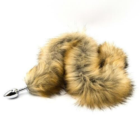 FURRY FANTASY RED FOX TAIL BUTT PLUG - SeriouslySensual