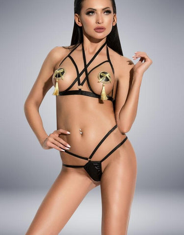 GINETTE BLACK SET - SeriouslySensual