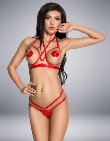 GINETTE RED SET - SeriouslySensual