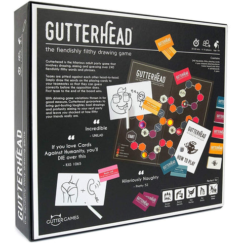 GUTTERHEAD - THE FILTHY DRAWING GAME - SALE