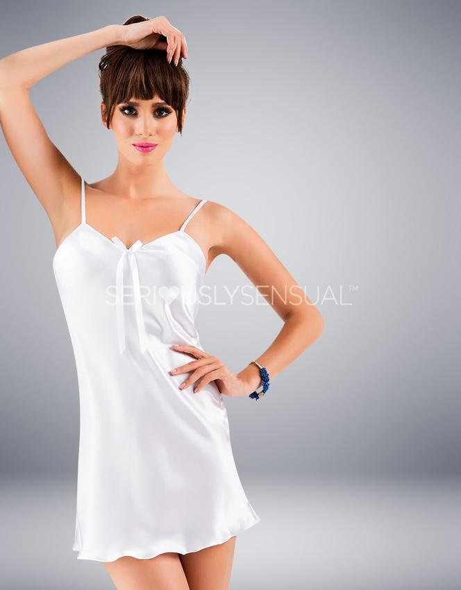 Irall Aria Nightdress White - SeriouslySensual