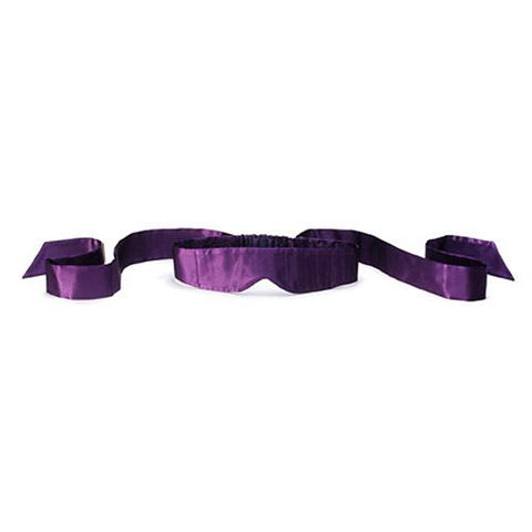 LELO Intima Silk Blindfold - Black