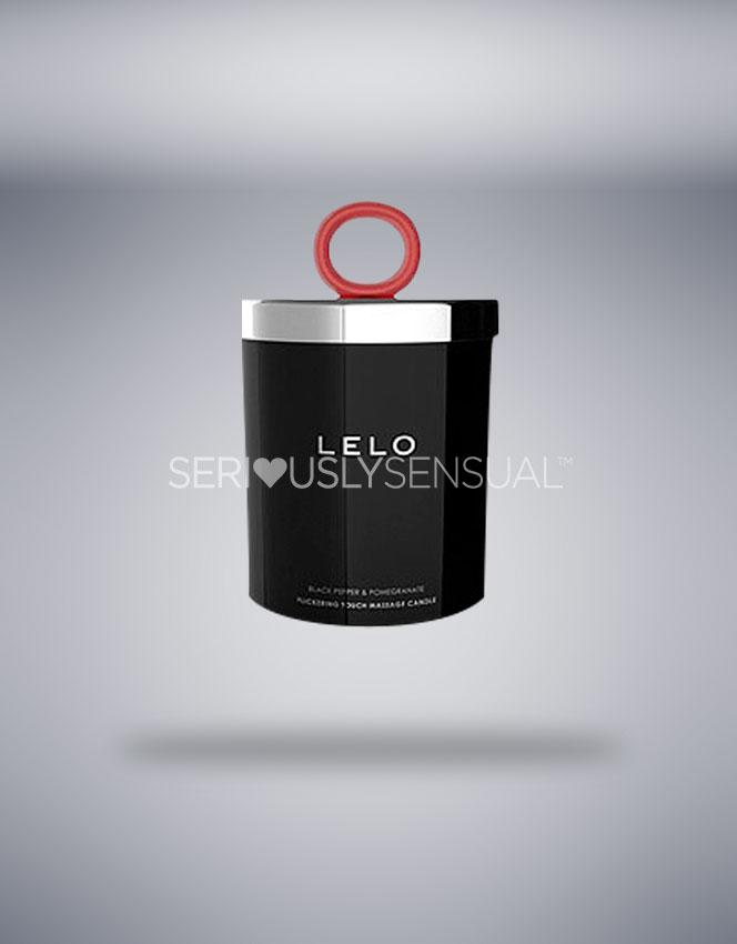 LELO Massage Candle - Black Pepper & Pomegranate - SeriouslySensual