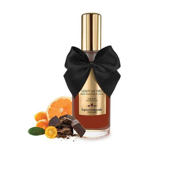 Light my Fire Warming Massage Oil - Dark Chocolate - SeriouslySensual