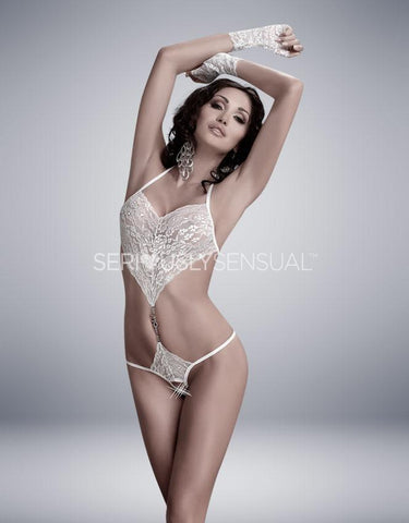 Me Seduce Elza Body White - SeriouslySensual