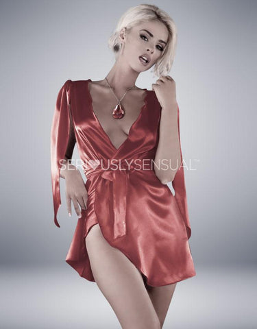 Me Seduce Florence Red Robe - SeriouslySensual