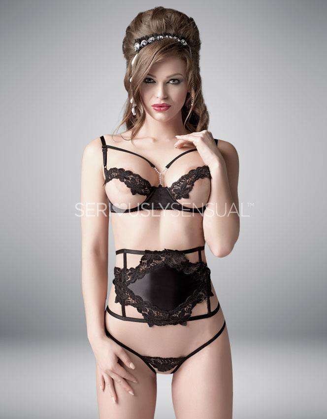 Me Seduce Isidora 3 Piece Set - SeriouslySensual