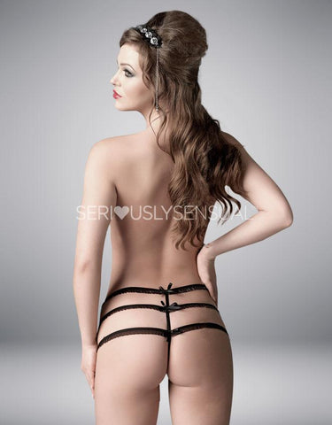 Me Seduce Julitte Black String