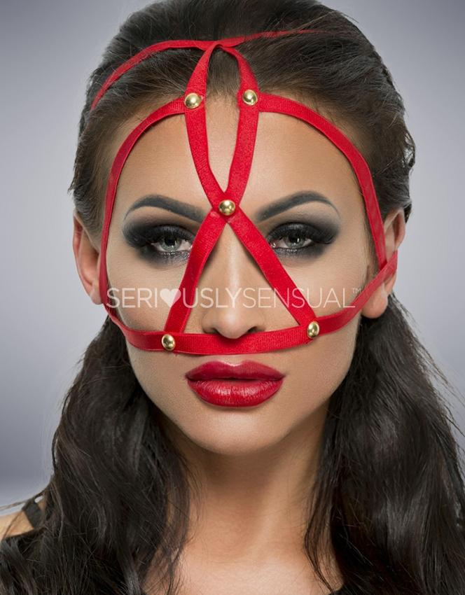 Me Seduce MK08 MASK RED - SeriouslySensual