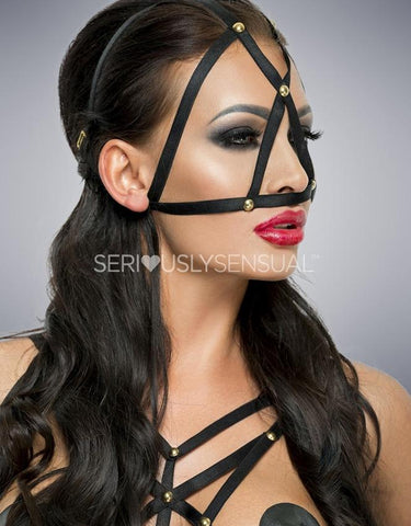 Me Seduce MK09 MASK BLACK - SeriouslySensual