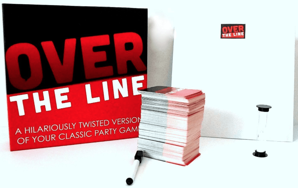 Over The Line Party Game - Charades & Pictionary but with naughty words - SeriouslySensual