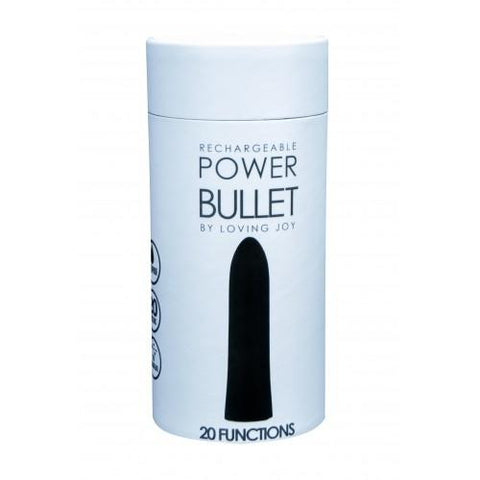 POWER BULLET VIBRATOR - BLACK