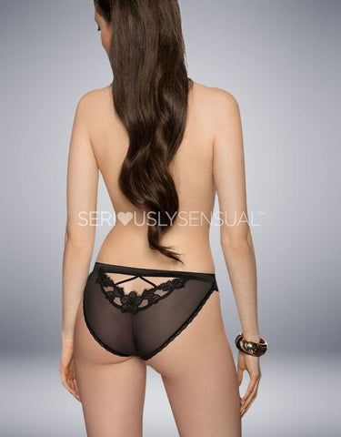 ROZA MALANI BLACK BRIEF - SeriouslySensual