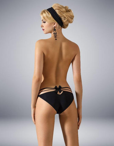 ROZA MIMI BRIEF BLACK - SeriouslySensual
