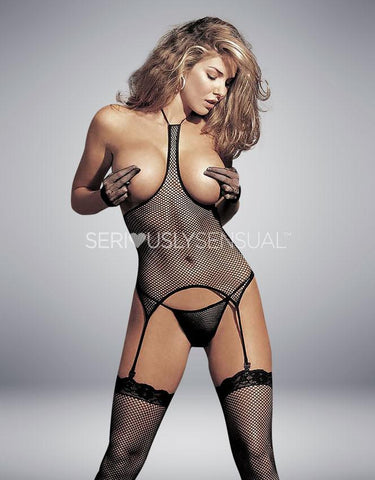 Shirley of Hollywood Black 3pc Set Black - 90017 - SeriouslySensual