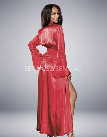 Shirley of Hollywood - Long Robe Red 20559